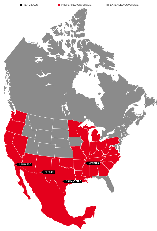 Russell Coverage Area